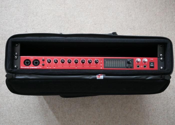 Focusrite Clarett 8Pre 18-In, 20-Out Audio Interface - Thunderbolt - 1