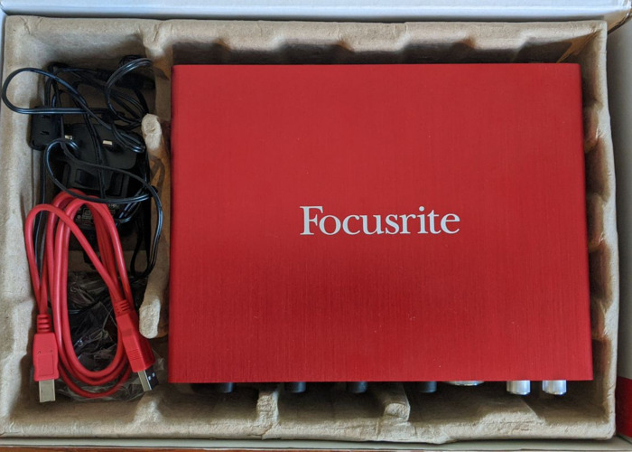 Focusrite Scarlett 18i8 2nd Gen - USB Audio Interface  - 2