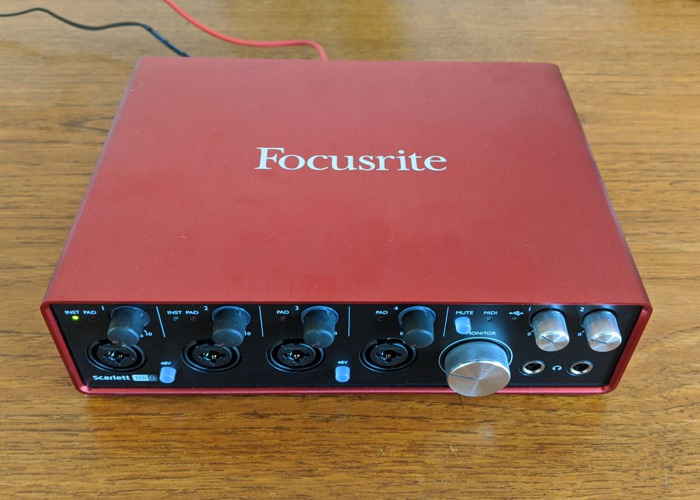 Focusrite Scarlett 18i8 2nd Gen - USB Audio Interface  - 1