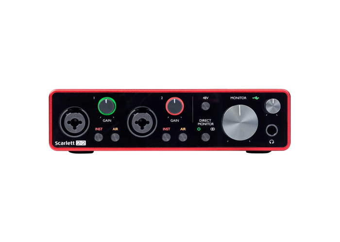 Focusrite Scarlett 2i2 3rd Gen USB Audio Interface - 2