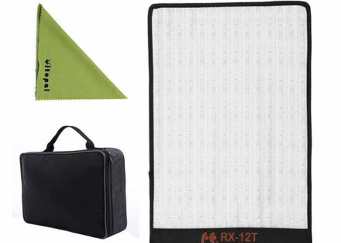 Foldable Falcon Eyes + Spotlight LEDs + V-Mount Batteries - 2