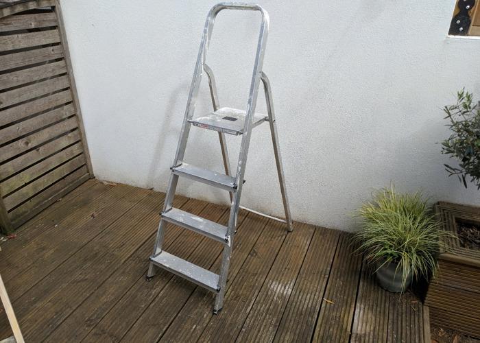 Folding Step Ladder - 1