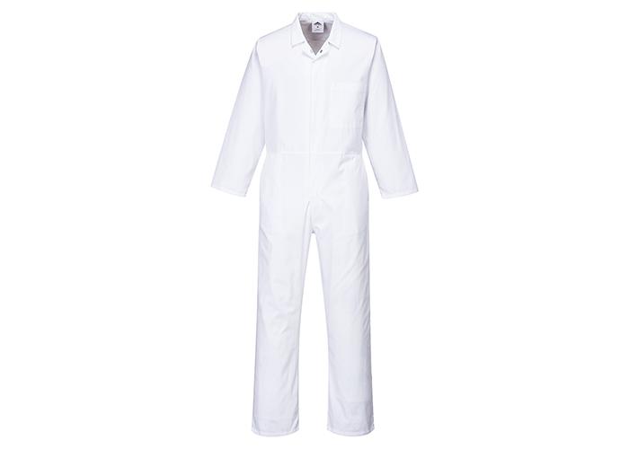 Food Boilersuit  White  3 XL  R - 1