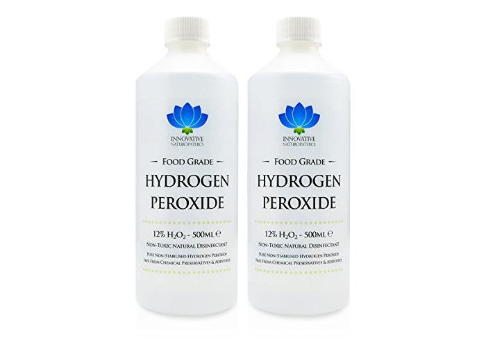 Food Grade Hydrogen Peroxide - Purest Grade 12% (<11.99%) - 1 Litre - Unstabilized and Additive Free - 40 Vols - 1