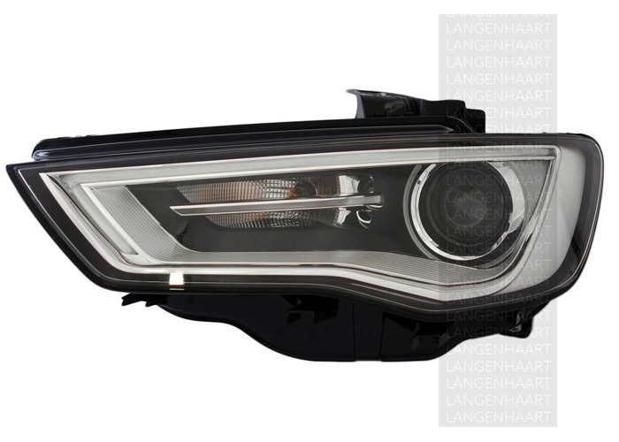 For Audi A3 (8V1, 8VK) 04.12 - Bi-xenonLED Left Headlight  RHD - 1