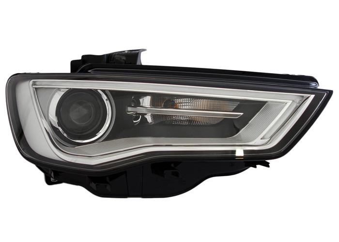 For Audi A3 (8V1, 8VK) 04.12 - Bi-xenonLED Right Headlight  RHD - 2