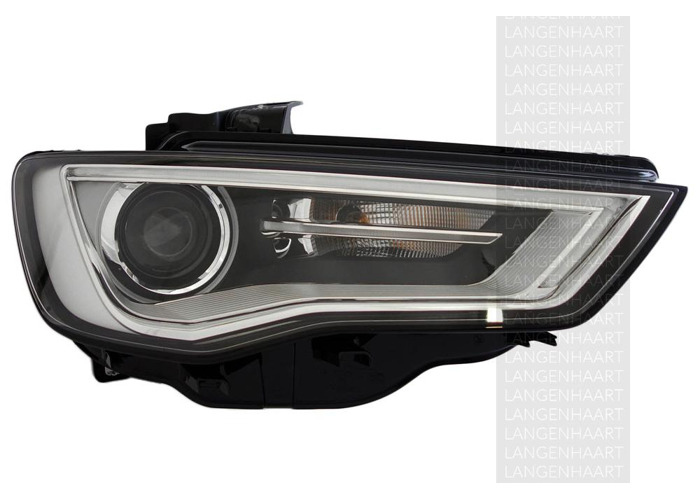 For Audi A3 (8V1, 8VK) 04.12 - Bi-xenonLED Right Headlight  RHD - 1
