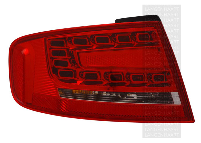 For Audi A4 (8K2, B8) 11.07 - 10.11 Halogen LED Left Rear light Outer LHD RHD - 1