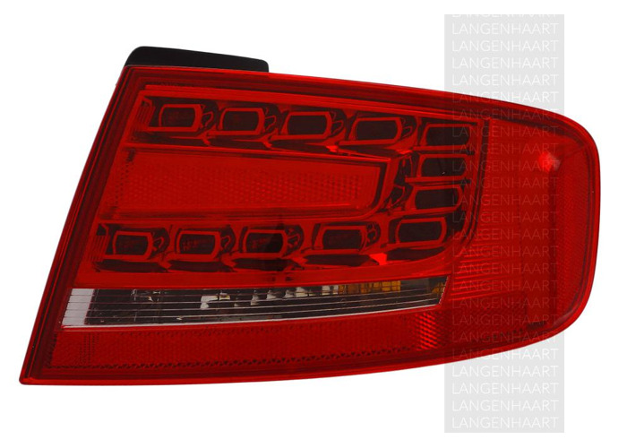 For Audi A4 (8K2, B8) 11.07 - 12.15 Halogen LED Right Rear light Outer LHD RHD - 1