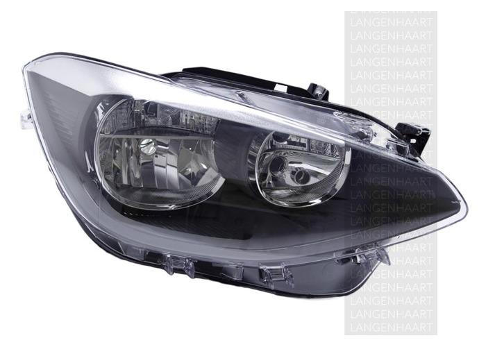 For BMW 1 (F20) 11.10 - Halogen Right Headlight  RHD - 1
