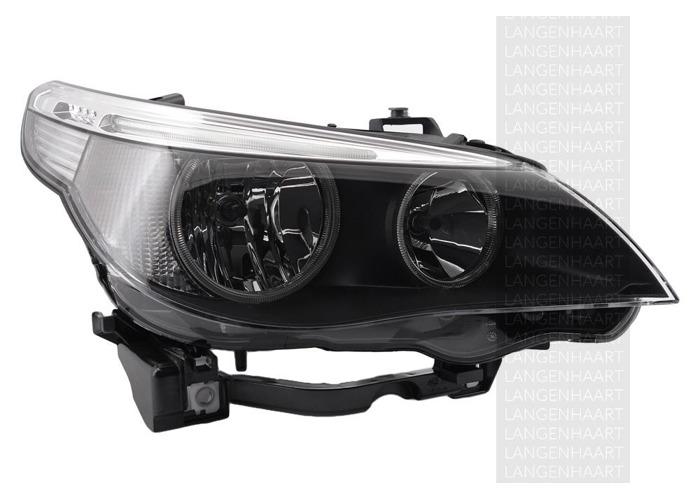 For BMW 5 (E60) 07.03 - 03.10 Halogen Right Headlight  RHD - 1