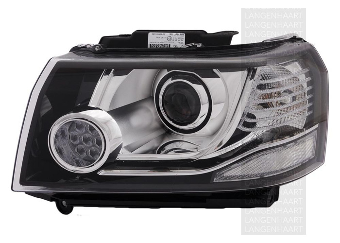 For Land Rover FREELANDER 2 (LF_) 10.06 - 10.14 Halogen LED Left Headlight  RHD - 1
