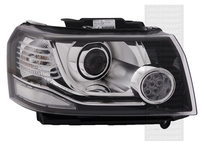 For Land Rover FREELANDER 2 (LF_) 10.06 - 10.14 Halogen LED Right Headlight  RHD - 1