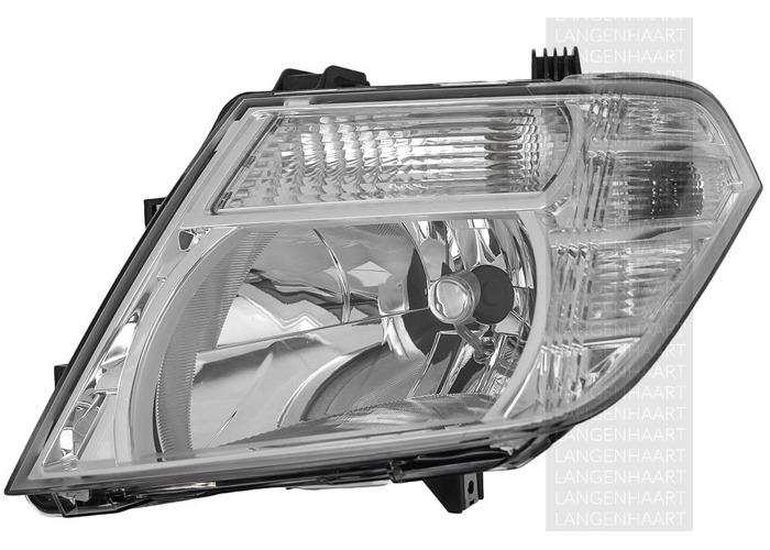 For Nissan NP300 NAVARA (D40) 10.04 - Halogen Left Headlight  RHD - 1