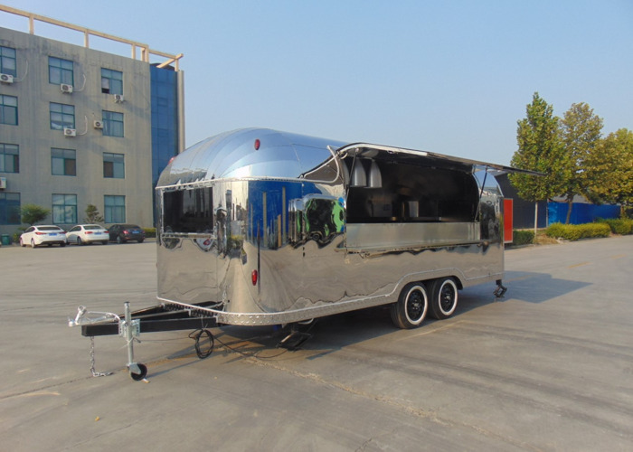 For rent 3 new Airstream style  550ST Catering trailers - 1
