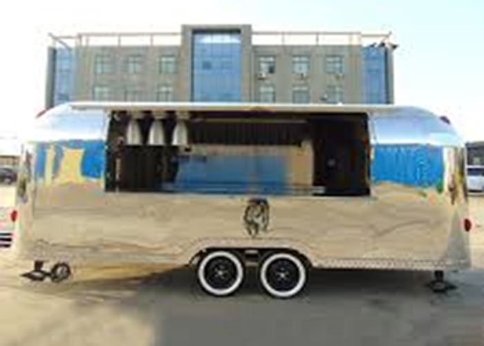 For rent 3 new Airstream style  550ST Catering trailers - 2