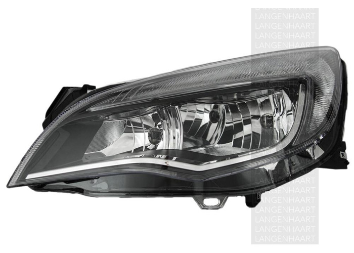For Vauxhall ASTRA J 12.09 - Halogen Left Headlight  RHD - 1
