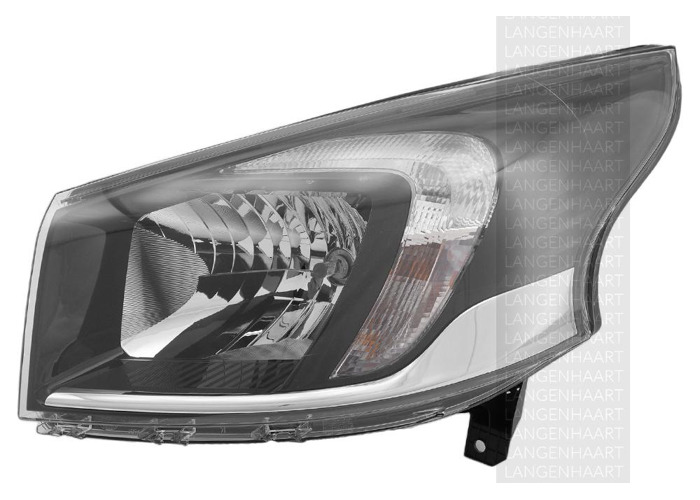 For Vauxhall VIVARO Box 06.14 - Halogen Left Headlight  RHD - 1