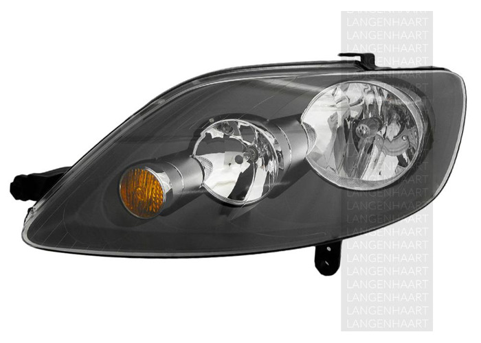 For VW GOLF PLUS (5M1, 521) 01.05 - 12.13 Halogen Left Headlight  RHD - 1