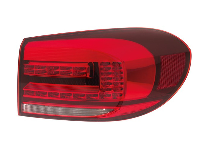 For VW TIGUAN (5N_) 06.11 - Halogen LED Right Rear light Outer LHD RHD - 1
