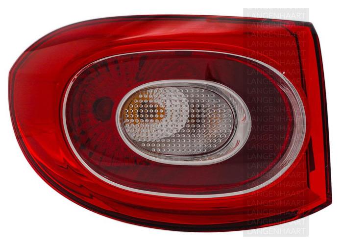 For VW TIGUAN (5N_) 09.07 - Halogen Left Rear light Outer LHD RHD - 1