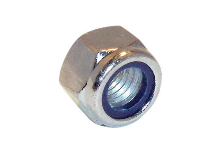 Forge 100NYLOC3 Hexagon Nut & Nylon Insert ZP M3 Bag of 100 - 1