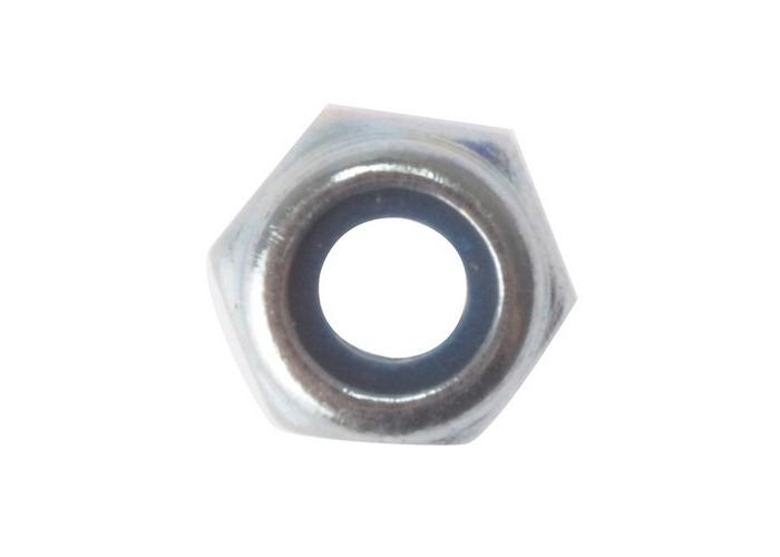 Forge 100NYLOC5 Hexagon Nut & Nylon Insert ZP M5 Bag of 100 - 1