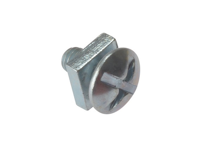 Forge 25RBN525 Roofing Bolt ZP M5 x 25mm Bag of 25 - 1