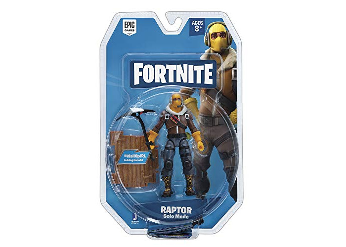 Fortnite FNT0014 Solo Mode 1 Figure Pack-Raptor - 1