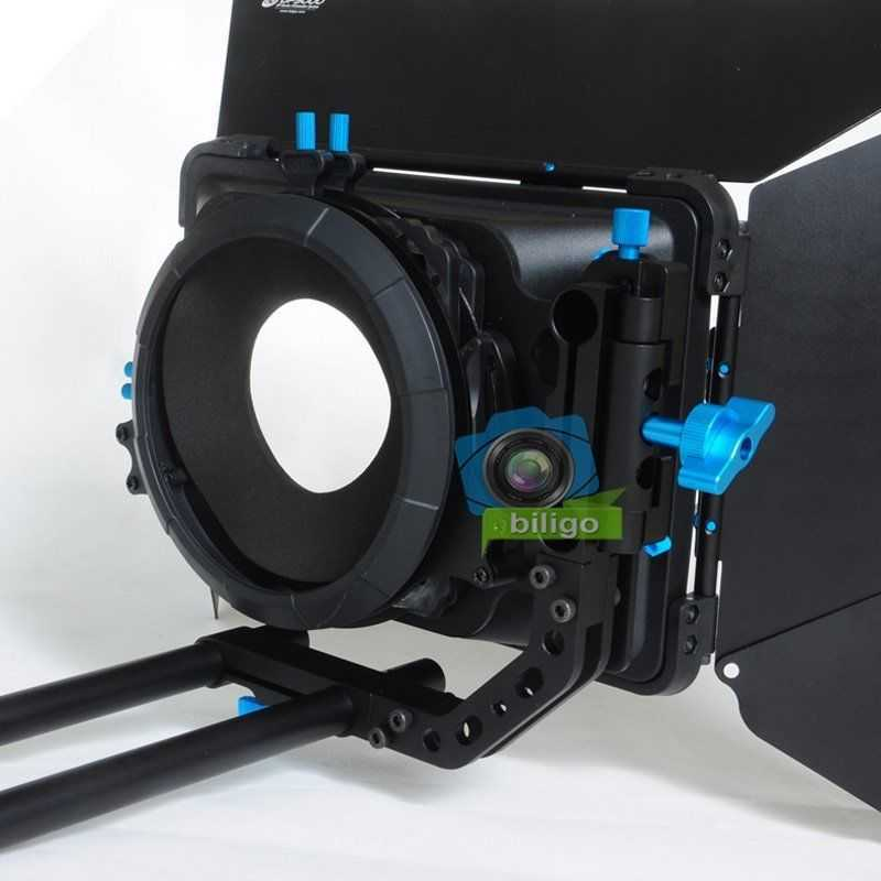 FOTGA DP3000 Matte Box Swing Away 15mm Rod - 2