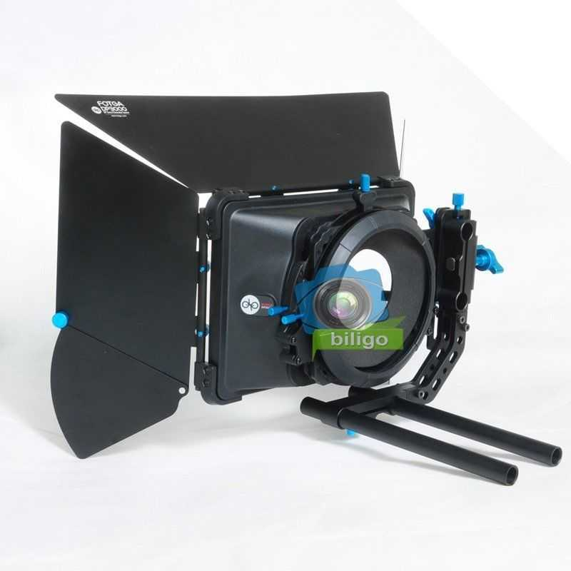 FOTGA DP3000 Matte Box Swing Away 15mm Rod - 1