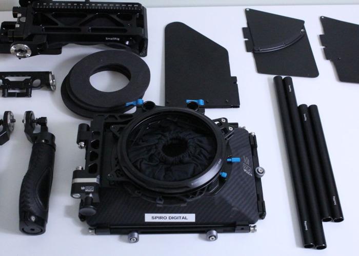 Fotga DP500 III Matte Box Kit with Small Rig Shoulder Mount - 1