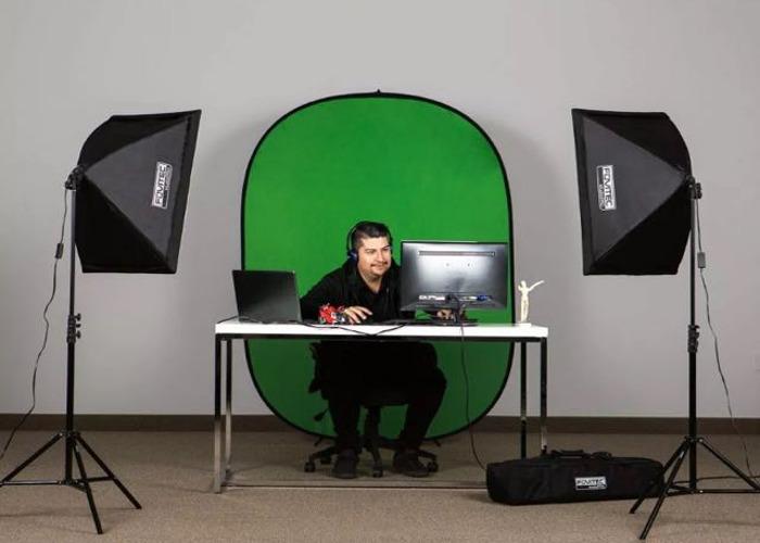 Fovitech Studiopro Softbox lights x 2 - 1