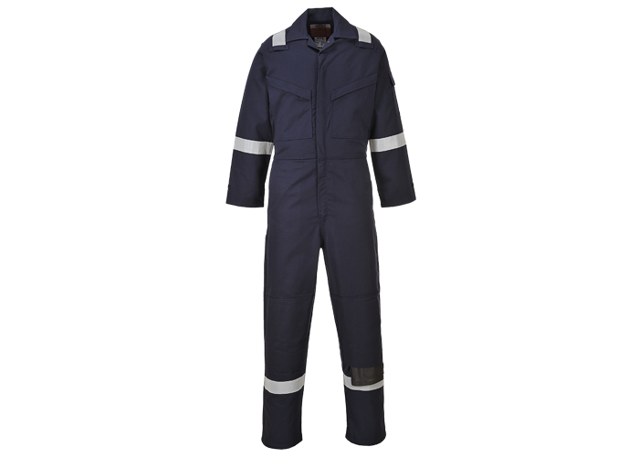 FR & Antistatic Coverall  Navy T  XL  T - 1