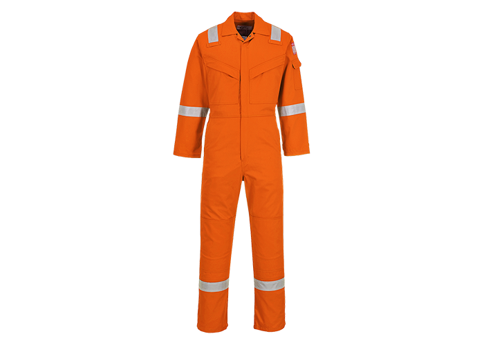 FR Antistatic Coverall  OrangT  XXL  T - 1