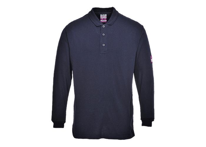FR Antistatic Polo Shirt  Navy  3 XL  R - 1