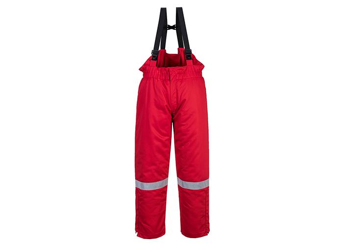 FR Winter Bib & Brace  Red  XL  R - 1