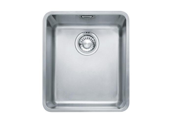 Franke Kubus KBX110-34 Stainless Steel 1.0 Bowl Undermount Sink | 122.0036.607 - 1