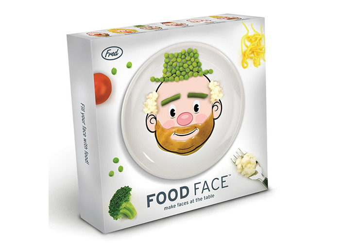 Fred FOOD FACE Dinner Plate - 2