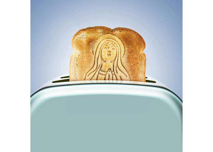 Fred HOLY TOAST Bread Stamp - 2