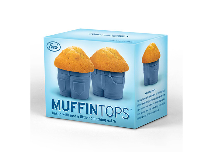 Fred MUFFIN TOPS Cupcake Moulds - 2