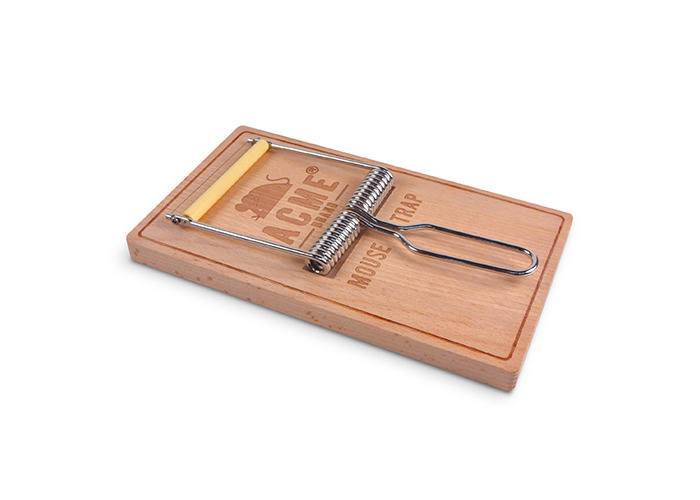 """Fred """"OH, SNAP!"""" Cheese Board, Wood, Brown, 2-Piece - 1"""
