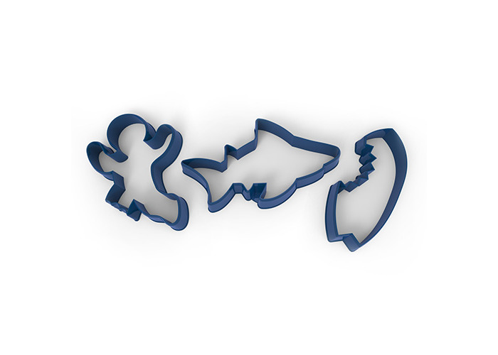 Fred SNACK ATTACK Cookie Cutters - 1