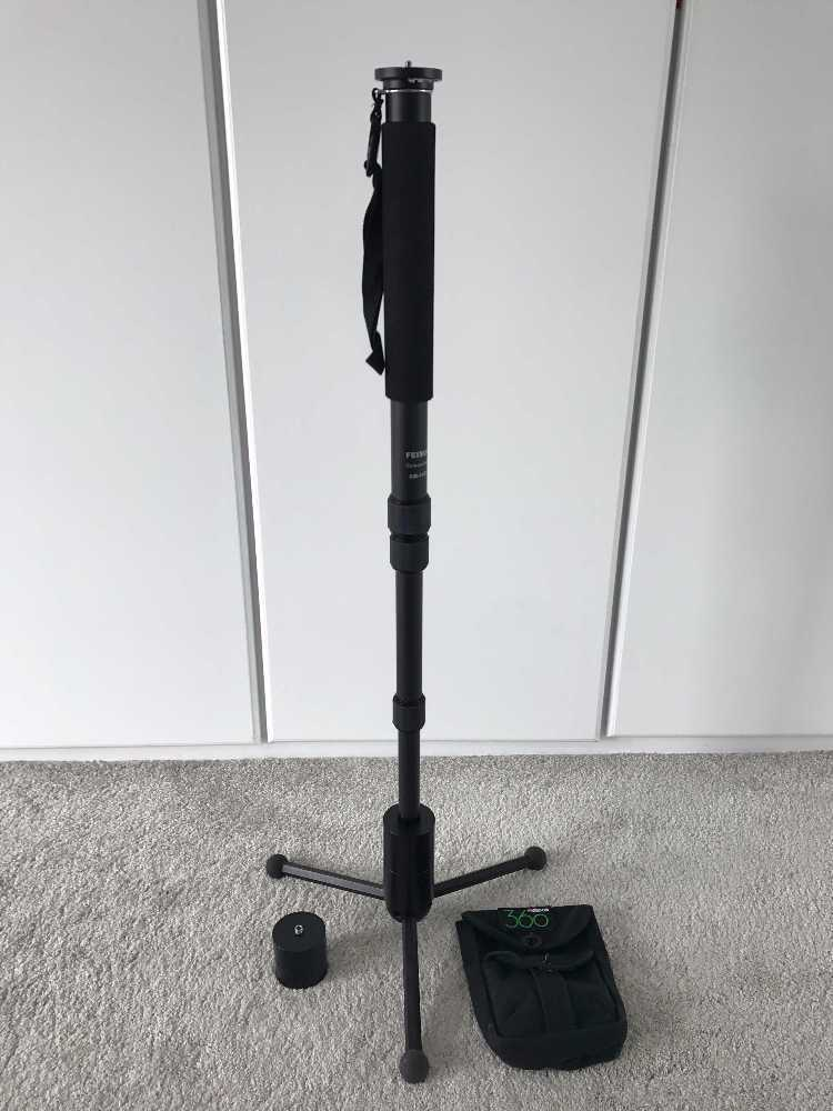 Freedom 360 - Monopod and Tripod Base and Weights  - 1