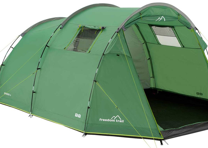 weight of freedom trail 6 person tent