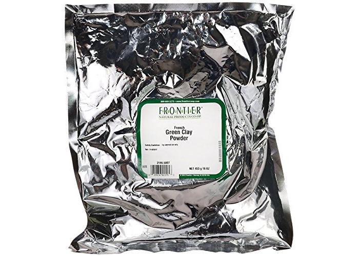 French Green Clay Powder, 16 oz (453 g) - 1