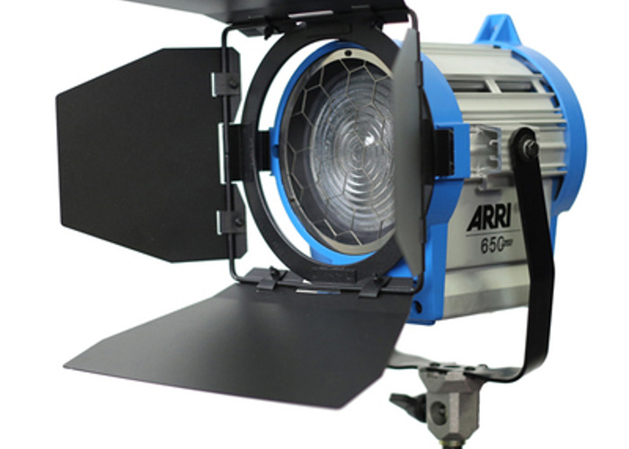 Arri 650W Fresnel Tungsten light and Chimera Softbox - 1