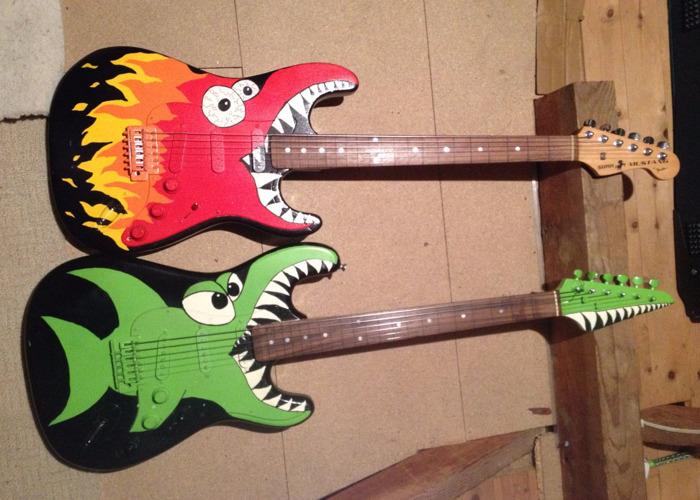 Fretless Electric Guitars - 1