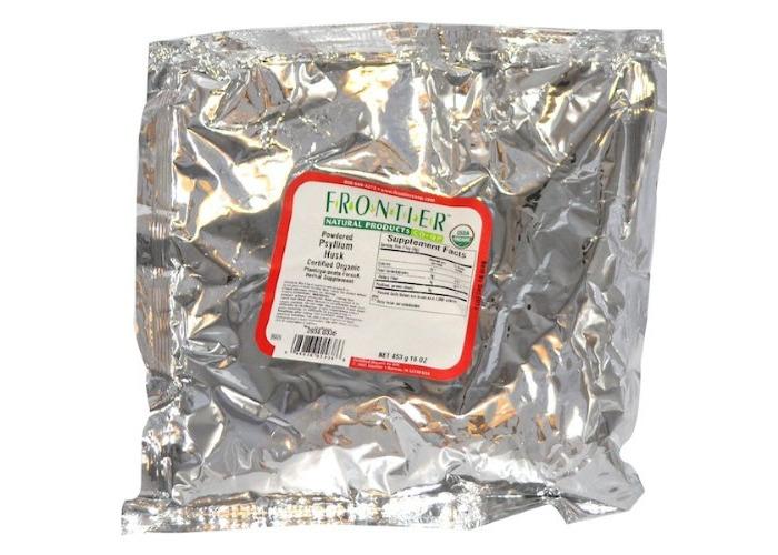 Frontier Natural Products, Organic Powdered Psyllium Husk, 16 oz (453 g) - 1