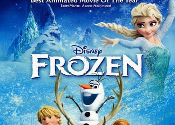 Frozen blue ray movie - 1